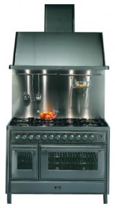ILVE MT-120F-VG Red Kitchen Stove Photo