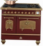 Restart ELG023 Burgundy Kitchen Stove
